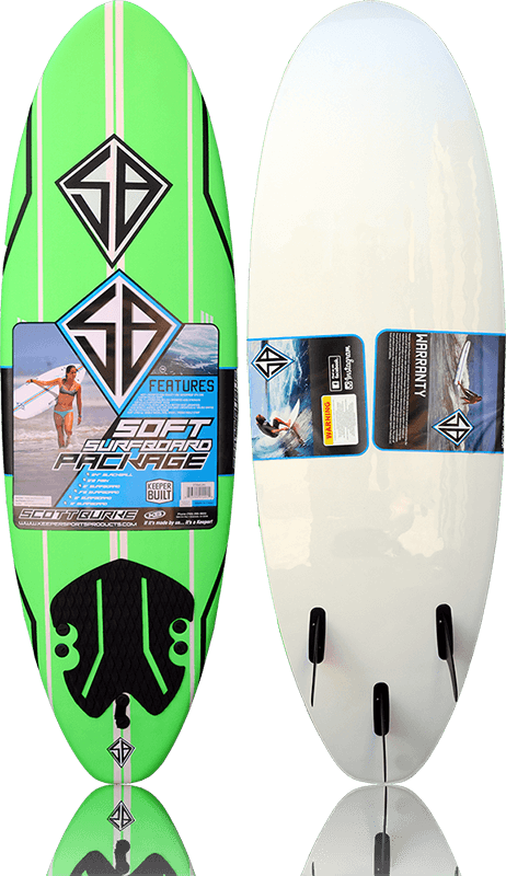 Scott Burke Softboard 6ft (72)