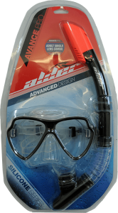 Avance Pro Twin Lens Mask and Snorkel Set